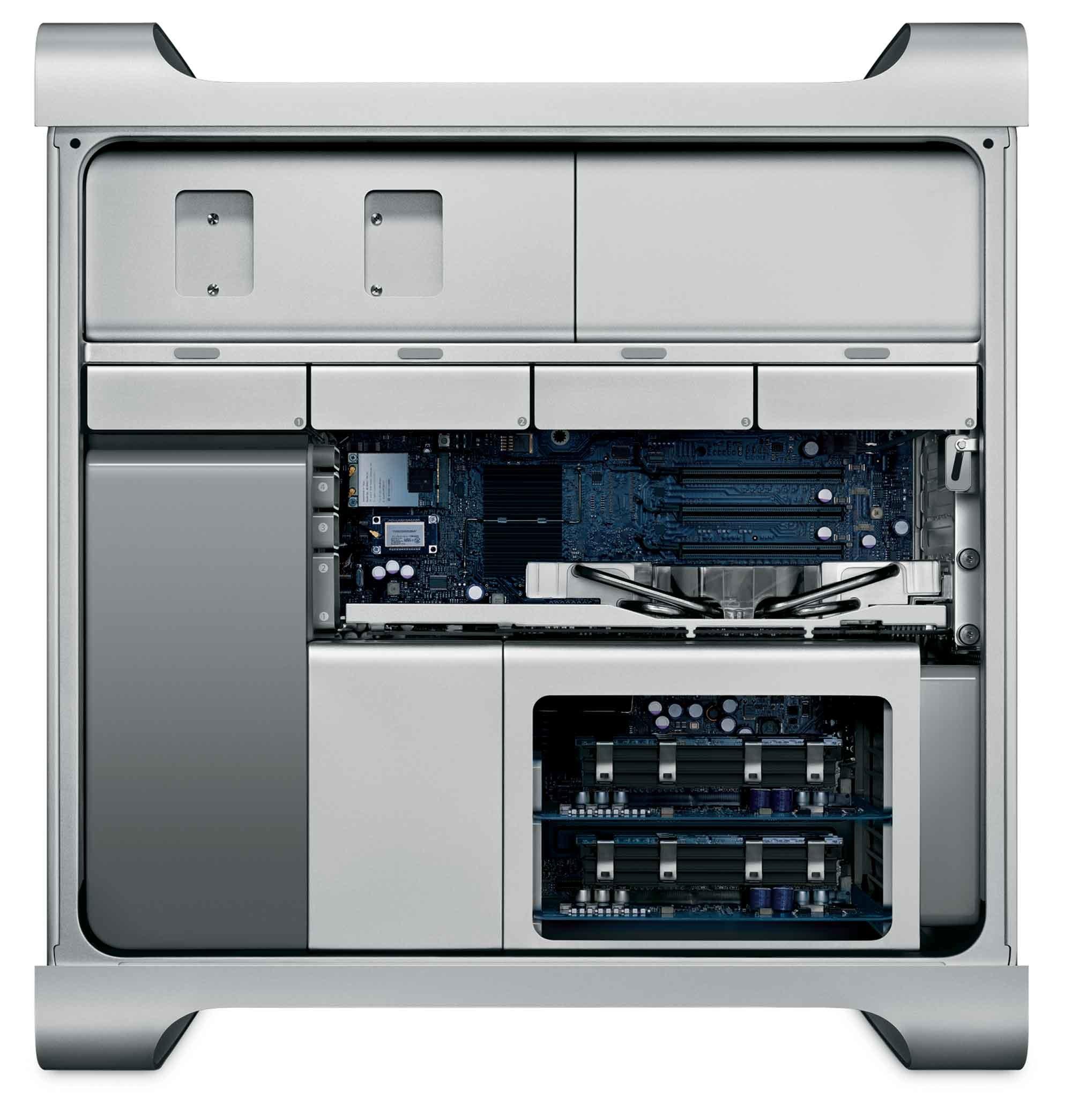 ...которая содержала три базовые конфигурации с различными спецификациями и ценами, новый Mac Pro...
