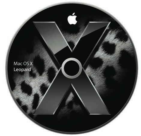 Courtesy of Apple - Mac OS X Leopard Disc