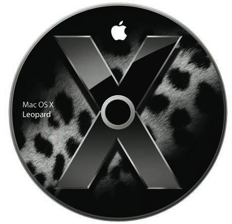 Courtesy of Apple - Mac OS X Leopard Disc